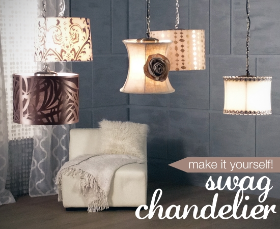 Diy lighting kit Hanging Series Of Five Diy Pendants By Lamps Plus Adrianogrillo Make Your Own Lighting Diy Chandelier Project Ideas Advice