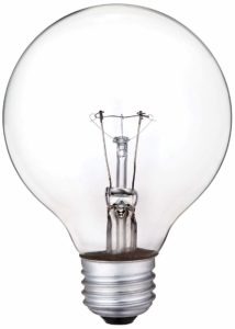 Incandescent Light Bulb Photo