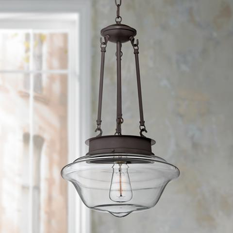 schoolhouse pendant light schoolhouse style lighting ideas amp advice lamps plus 10441
