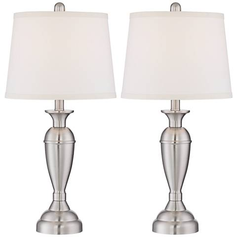 silver lamps table of design awesome image ideas lamp