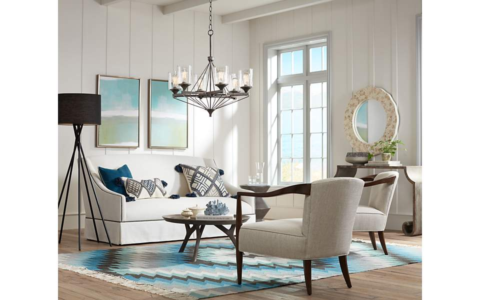 ... Enough To Have A Water View, We Can Do The Next Best Thing And Bring  The Beach Chic Coastal Decorating Style Inside And As A Part Of Our Home  Decor.
