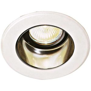 A recessed can and and trim fixture.