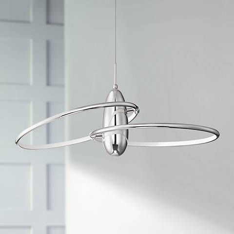 Modern LED Pendant in a room