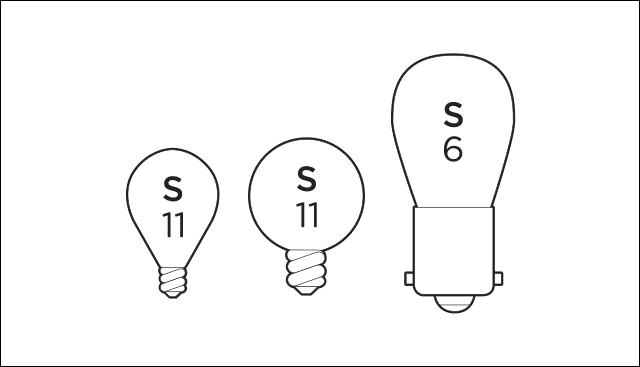 Appliance Bulb Types
