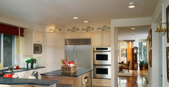 Kitchen Recessed Lighting - Layout and Planning - Ideas & Advice ...