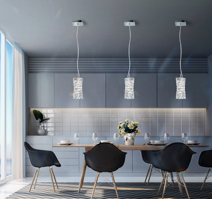 Modern Schonbek Crystal Lights