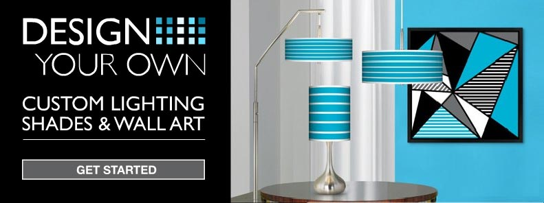Design your own lighting lighting ideas for Decorate your own lampshade