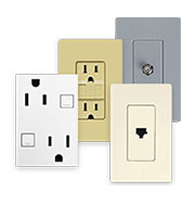Receptacles & Faceplates
