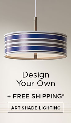 Design Your Own Custom Art Shade Lighting*