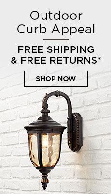 Free Shipping & Free Returns on All Outdoor Lighting*