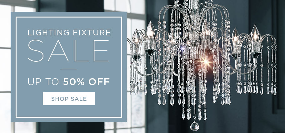 Lighting Fixture Sale - Up to 50% off