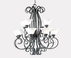 Large Black Chandeliers
