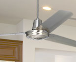 Large Ceiling Fans without Lights