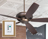 Ceiling Fans with Wall Control
