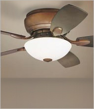 Hugger Ceiling Fans and Flushmount Designs