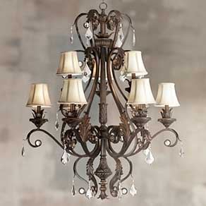 Chandeliers elegant chandelier designs for home lamps plus large chandeliers on sale aloadofball Images