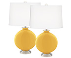 Yellow Carrie Table Lamp Sets