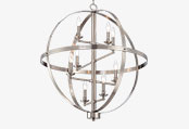 Brushed Nickel Entryway Pendants