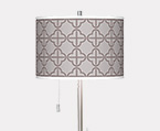 Club Base Art Shade Floor Lamps