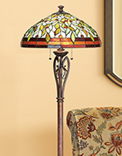 Shop floor lamps designer styles decorative designs lamps plus tiffany floor lamps aloadofball Choice Image