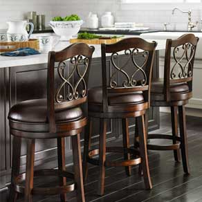 Barstool Sets. Swivel Stools