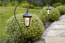 Landscape lighting outdoor fixtures for garden and yard lamps plus outdoor path lighting aloadofball Images