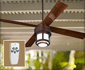 Remote Control Outdoor Ceiling Fans