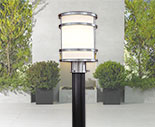 Outdoor post lights lamp post light fixtures lamps plus contemporary outdoor post lighting aloadofball Images