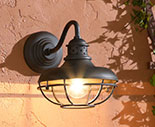 Rustic Outdoor Wall Lighting
