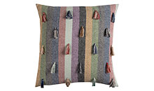 multi-color throw pillows