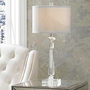 Crystal. Table Lamps