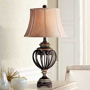 Table lamps for bedroom living room and more lamps plus traditional glass and crystal table lamps aloadofball Gallery