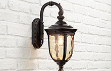 Traditional Bronze Outdoor Wall Lights