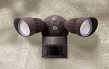 Traditional Outdoor Motion Sensor Lights