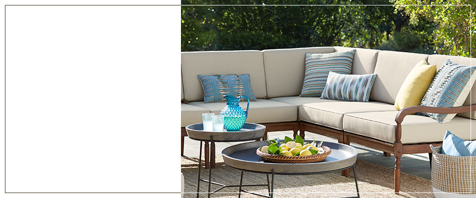 Contemporary Outdoor Furniture and Lighting - Modern Outdoor Trend Collection