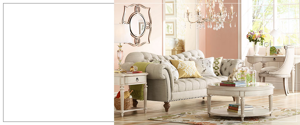 Vintage Style Decor, Lighting & Furniture - Vintage Charm Trend Collection