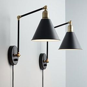 Black Modern Farmhouse Wall Sconce