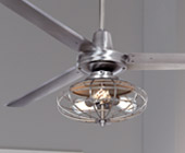 Contemporary Ceiling Fans with Lights