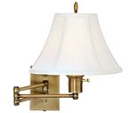 Brass Swing Arm Wall Lamps
