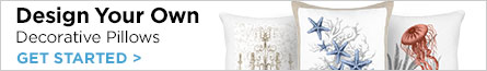 Design Your Own Decorative Pillows